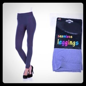 Women's Grey Basic Leggings